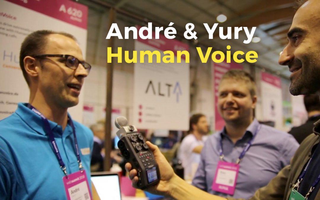 André & Yury | Human Voice